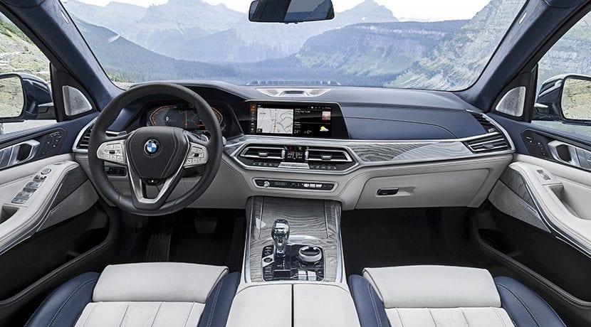 Interior del BMW X7