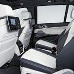 Segunda fila de asientos del BMW X7