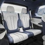 Tercera fila de asientos del BMW X7