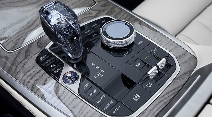 Palanca del cambio automático del BMW X7
