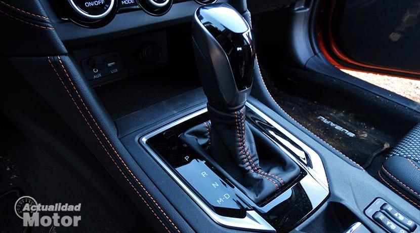 Cambio automático del Subaru XV