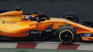 McLaren MCL33 con la marca Coca Cola