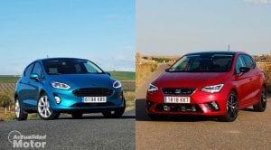 Comparativa Ford Fiesta Vs Seat Ibiza