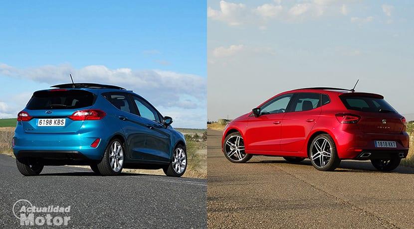 Comparativa Comparativa Ford Fiesta Vs Seat Ibiza trasera