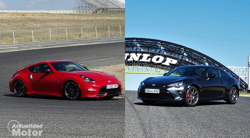Comparativa deportivos Nissan 370Z Vs Toyota GT86