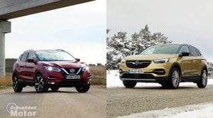 Comparativa Nissan Qashqai Vs Opel Grandland X