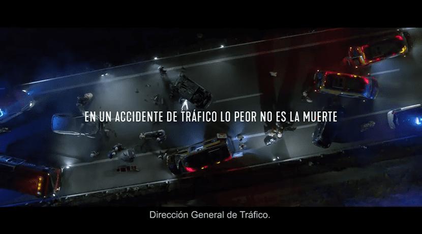 """Campaña dura y real de la DGT """"vivo o muerto"""""""