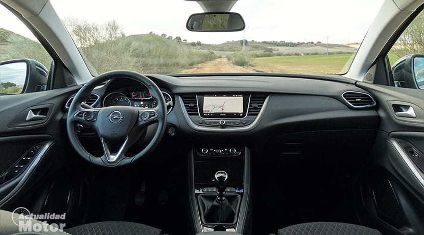 Diseño interior del Opel Grandland X