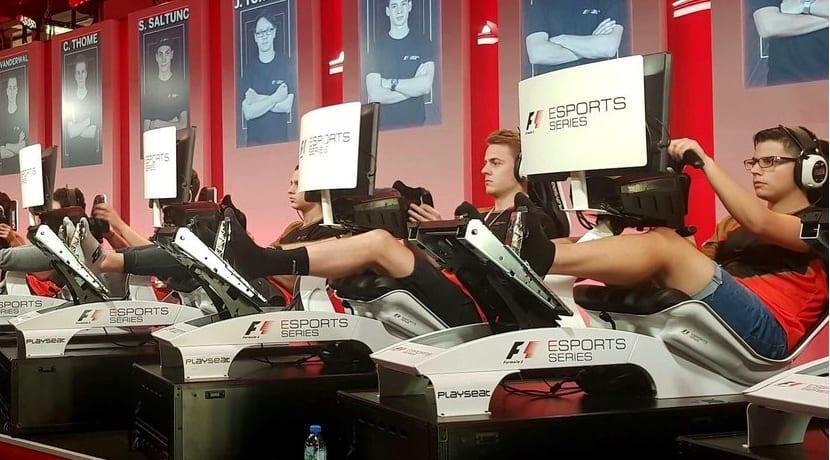 e-Sport F1 final