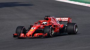 Ferrari en Mexico 2018