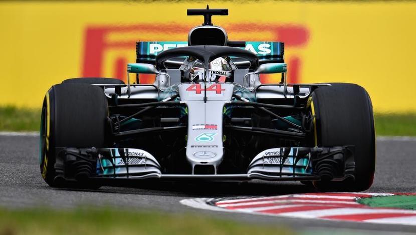 F1 2018 Hamilton