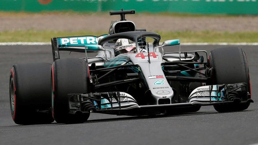 Mercedes-Hamilton 2018