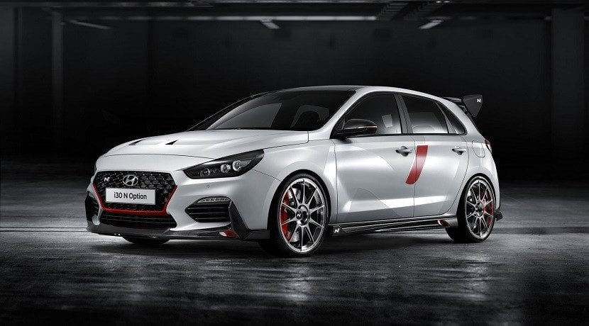 Frontal del Hyundai i30 N Option Concept