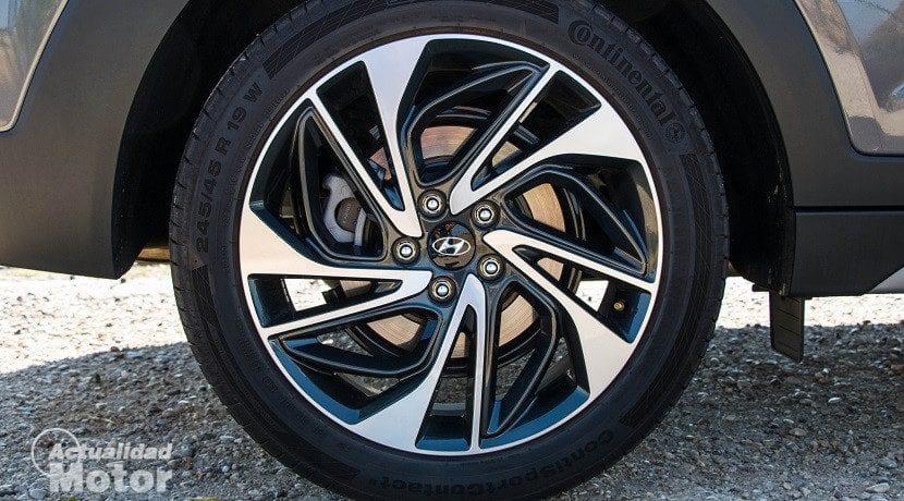 Llantas del Hyundai Tucson