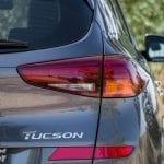 Luces traseras del Hyundai Tucson