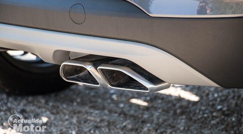 Tubos del escape del Hyundai Tucson