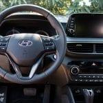 Puesto de conducción del Hyundai Tucson