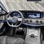 Interior del Mercedes Clase S 560e híbrido enchufable