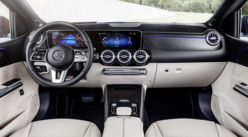 Mercedes Clase B diseño interior