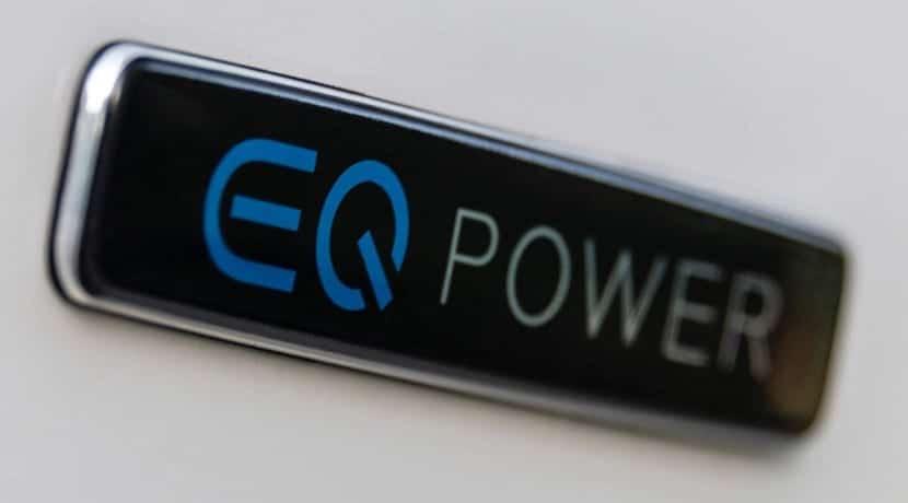 Anagrama EQ Power del Mercedes Clase C 300de