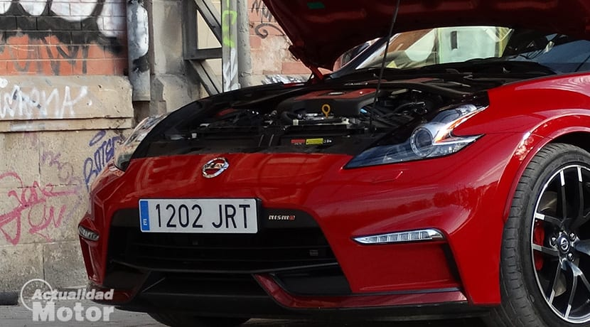Motor V6 del Nissan 370Z