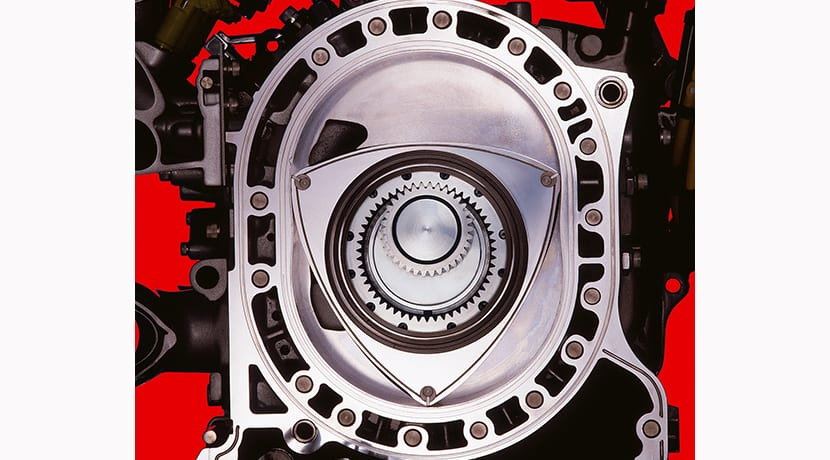 Motor rotativo Wankel de Mazda