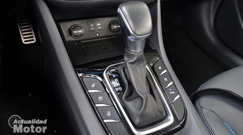 Posiciones del cambio automático de un Hyundai Ioniq