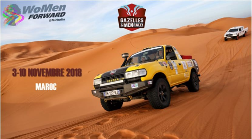 Portada del Rally GazellesMen 2018