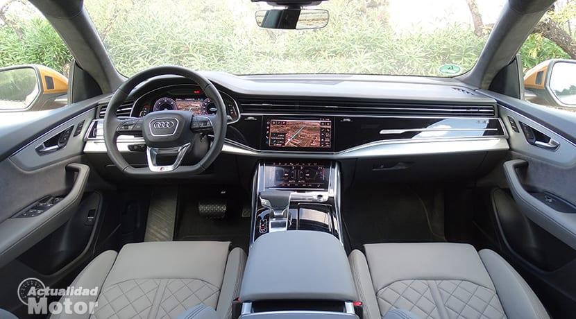 Prueba Audi Q8 interior