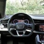 Prueba Audi Q8 50 TDI interiores