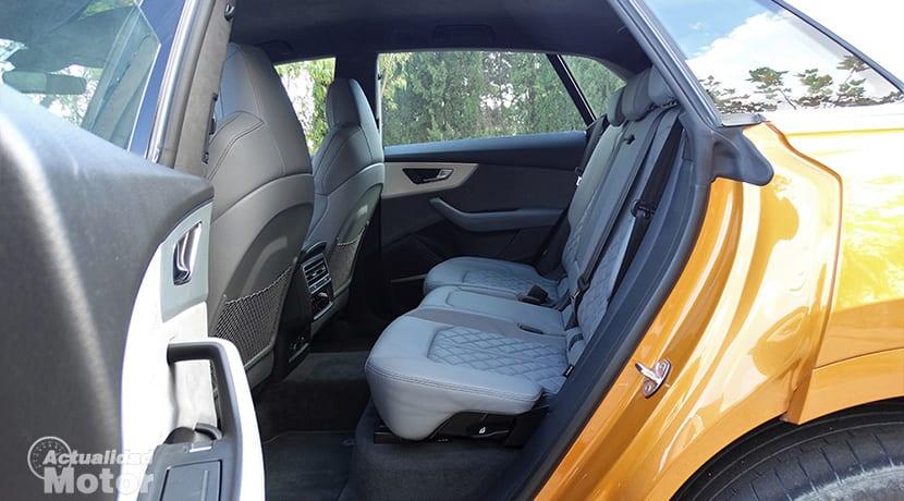 Prueba Audi Q8 plazas traseras