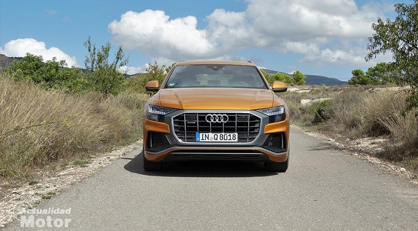 Prueba Audi Q8 frontal