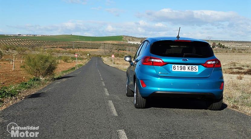 Prueba Ford Fiesta Titanium trasera