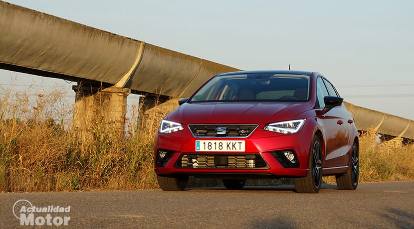 Prueba Seat Ibiza FR 1.6 TDI frontal