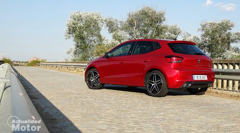 Prueba Seat Ibiza FR 1.6 TDI perfil trasero
