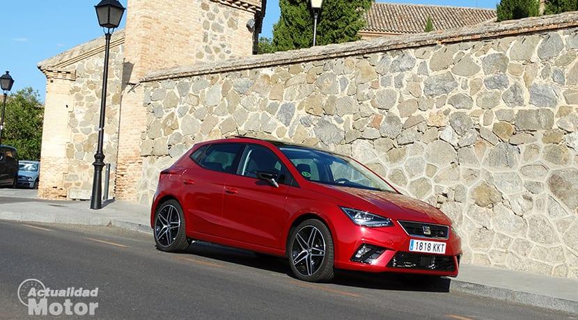 Prueba Seat Ibiza FR 1.6 TDI perfil