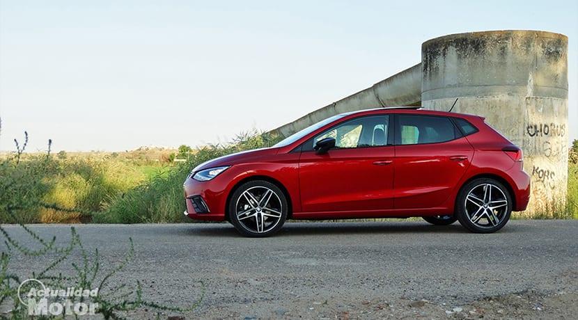 Prueba Seat Ibiza FR 1.6 TDI lateral
