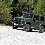 Suzuki Jimny perfil
