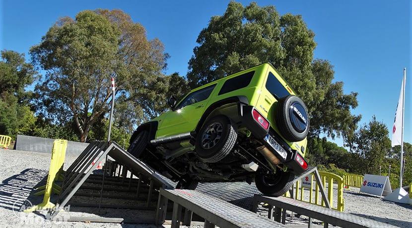 Prueba Suzuki Jimny cruce de puentes