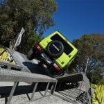 Prueba Suzuki Jimny 4x4 cruce de puentes