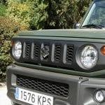 Prueba Suzuki Jimny parrilla frontal