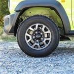 Prueba Suzuki Jimny llantas
