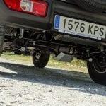 Prueba Suzuki Jimny protección diferencial