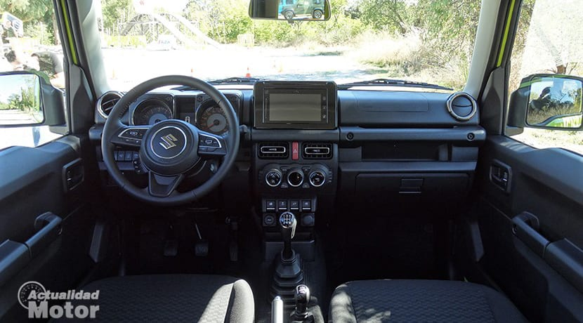 Prueba Suzuki Jimny interior