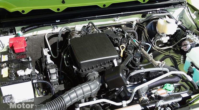 Prueba Suzuki Jimny motor 1.5 102 cv