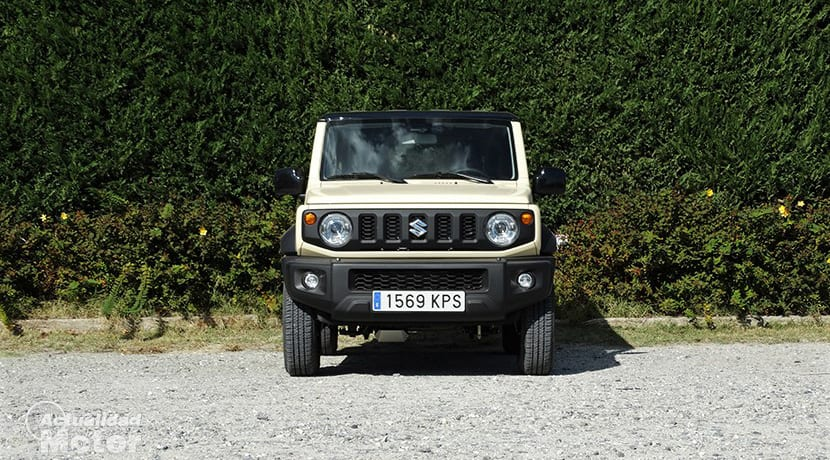 Prueba Suzuki Jimny frontal
