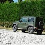 Prueba Suzuki Jimny perfil posterior