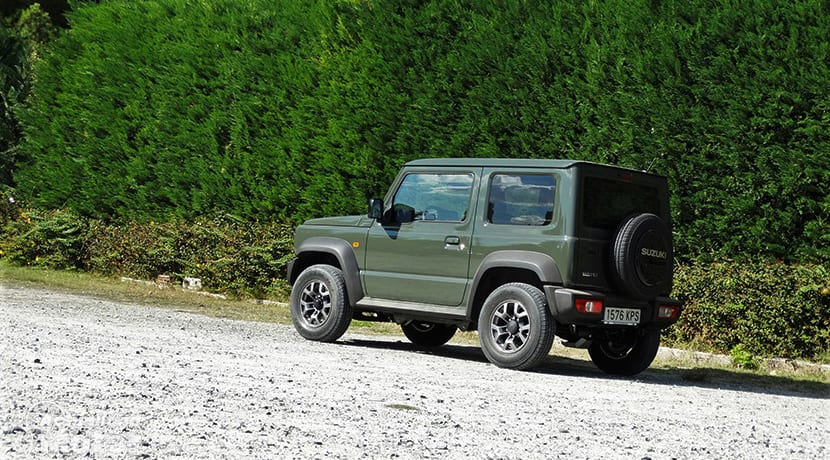 Prueba Suzuki Jimny lateral