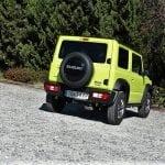 Prueba Suzuki Jimny trasera