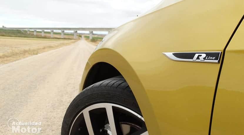 Prueba VW Golf R-Line
